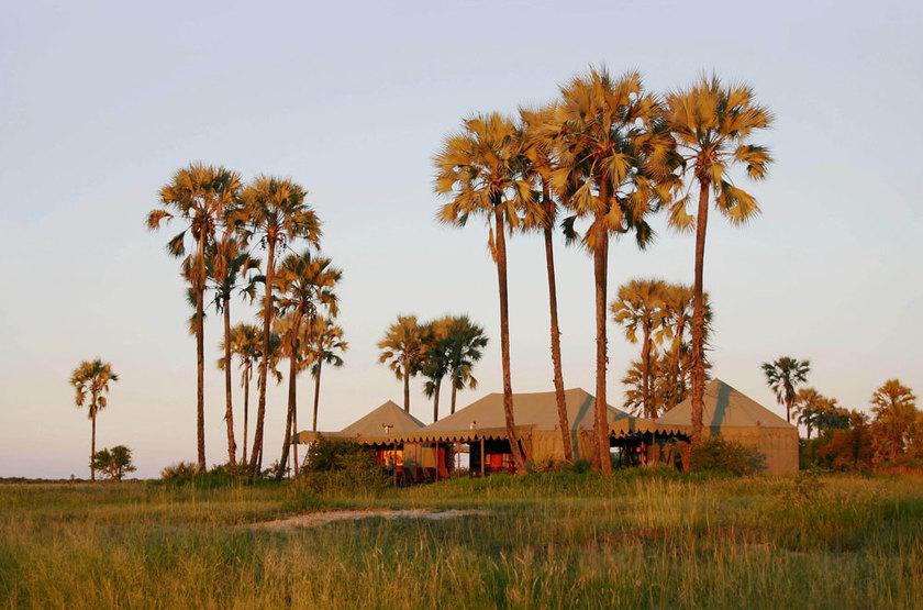 Jack's Camp, Pan du Makgadikgadi, Botswana, extérieur