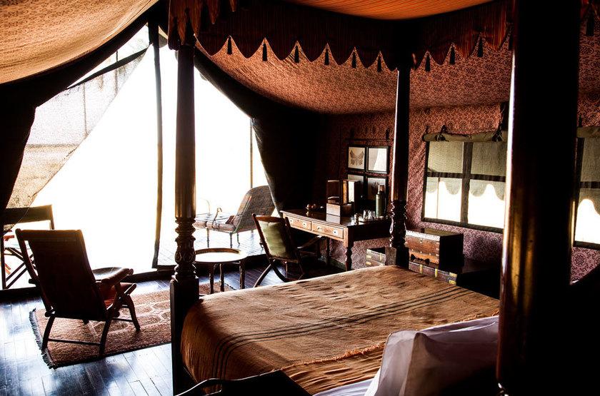Jack's Camp, Pan du Makgadikgadi, Botswana, terrasse