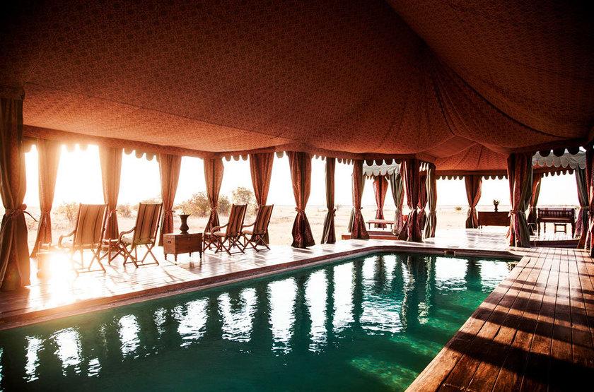 Jack's Camp, Pan du Makgadikgadi, Botswana, piscine