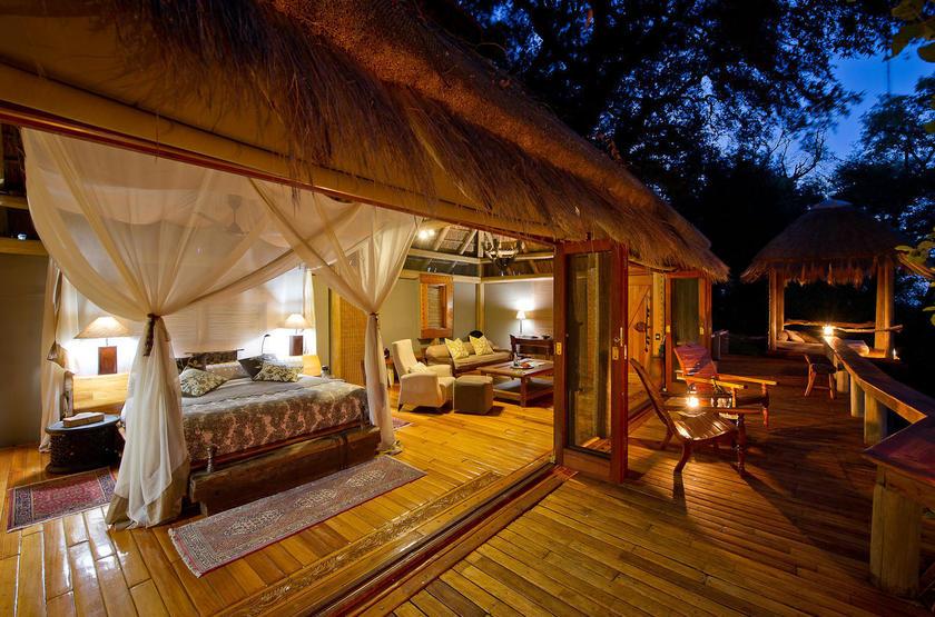 Jao Camp, concession de Jao, Botswana, tente