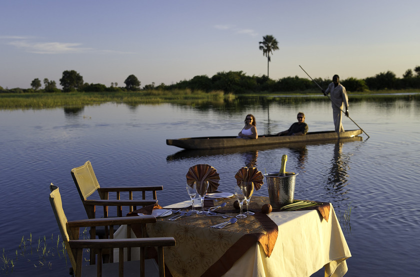 Jao Camp, concession de Jao, Botswana, mokoro