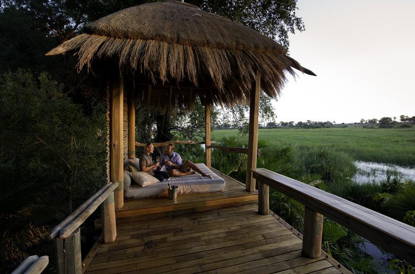 Jao Camp, concession de Jao, Botswana, point de vue