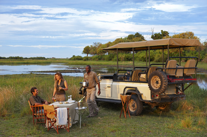 Kings Pool Camp, Linyanti, Botswana, en brousse