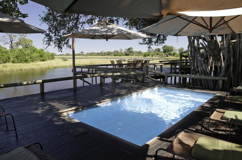 Savuti Camp, Linyanti, Botswana, piscine