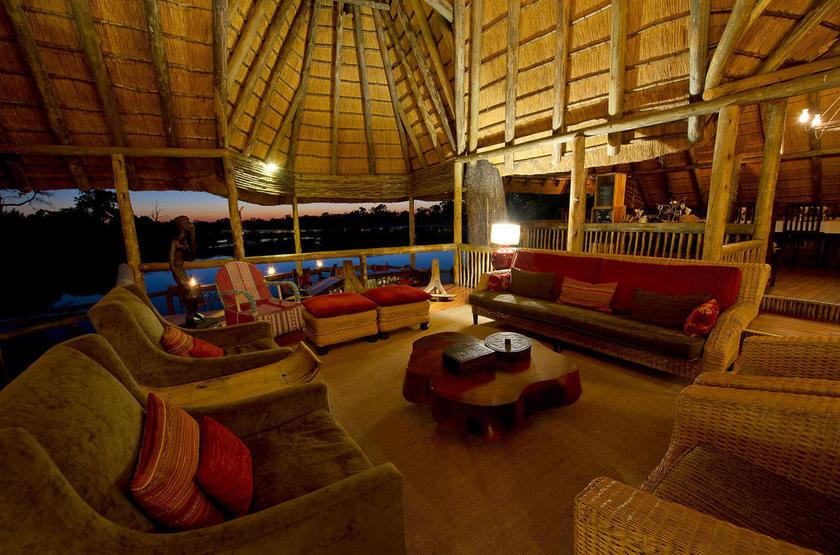 Savuti Camp, Linyanti, Botswana, salon