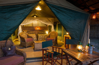 Flatdogs camp   luxury safari tente listing