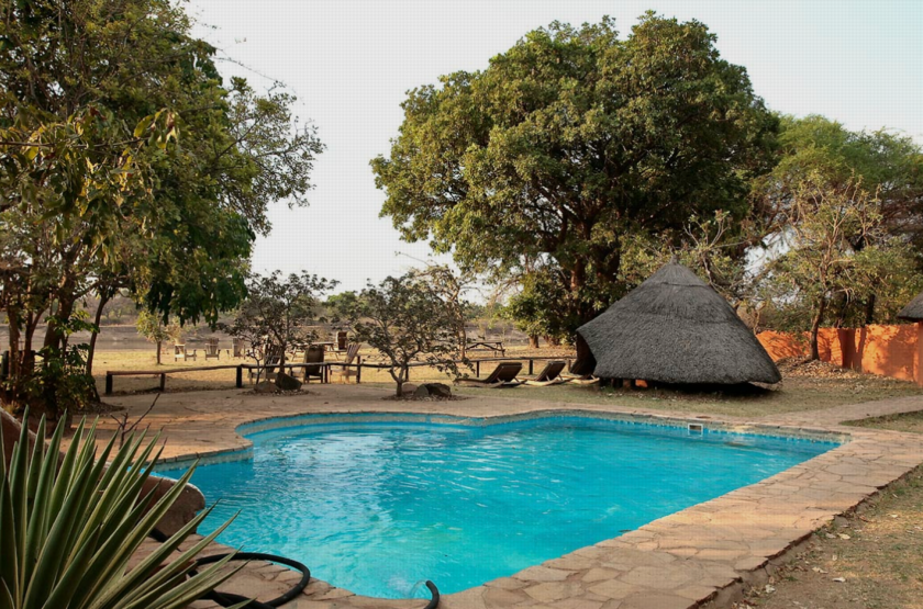 Flagdogs Camp, South Luangwa, Zambie, piscine