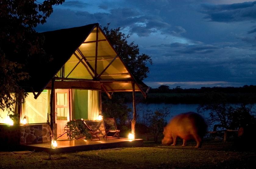 Mvuu Camp, parc de Liwonde, extérieur