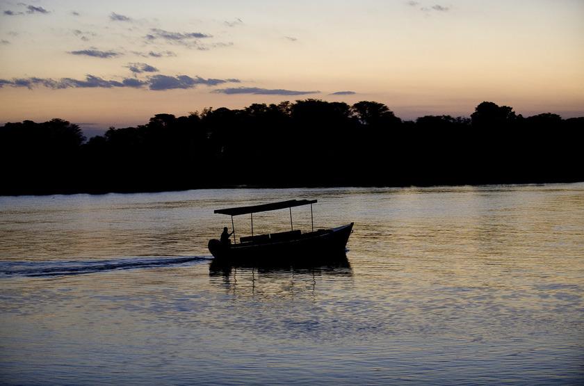 Mvuu Camp, parc de Liwonde, safari en bateau