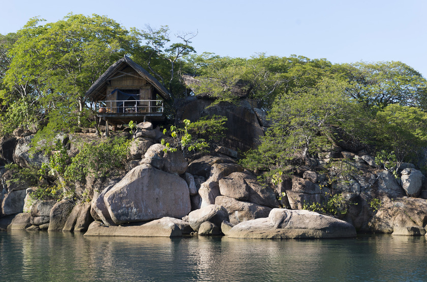 Mumbo Island Camp, Malawi, extérieur