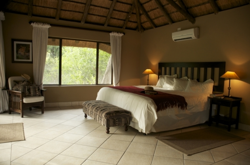 Royal Tree Lodge, Maun, Botswana, chambre