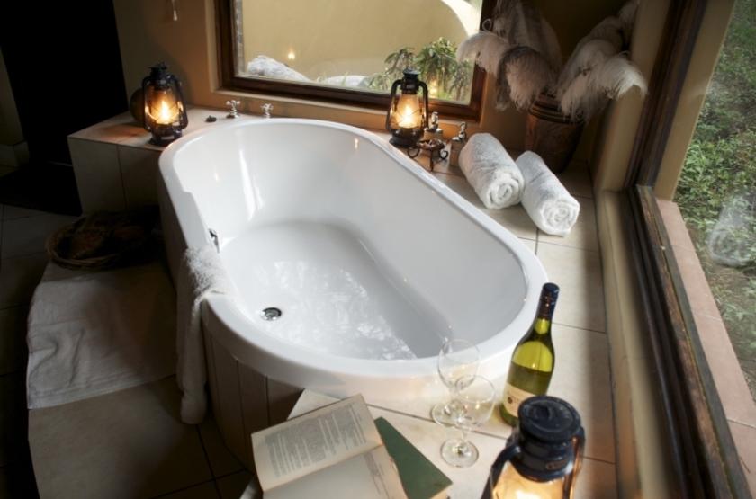 Salle de bains honneymoon chalet slideshow