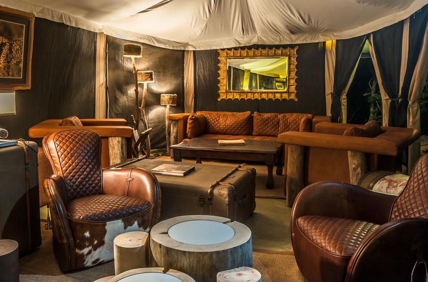 Entim Mara Camp, Masai Mara, Kenya, salon