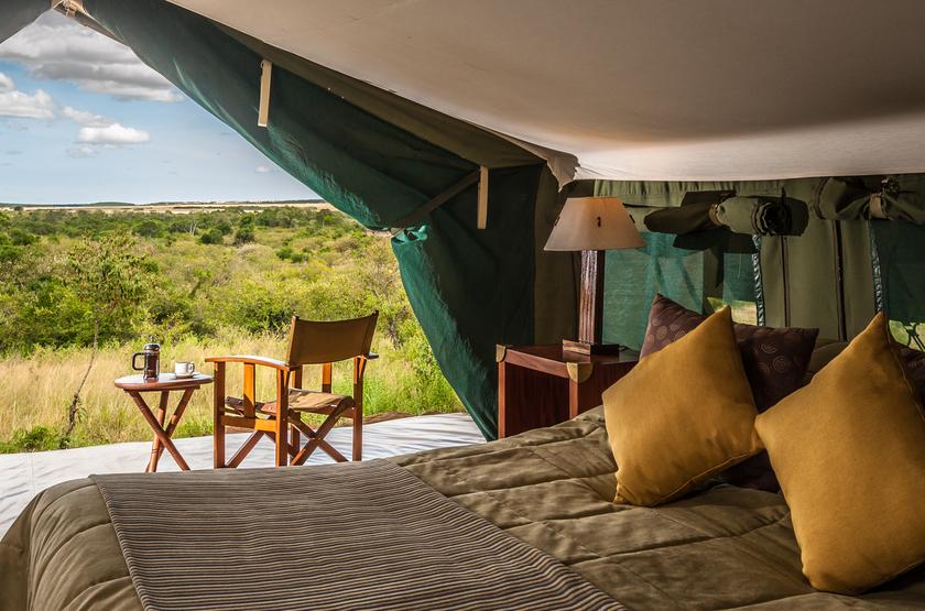 Entim Mara Camp, Masai Mara, Kenya, tente
