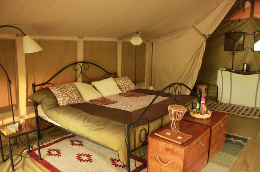 Naibor Camp, Masai Mara, Kenya, intérieur tente