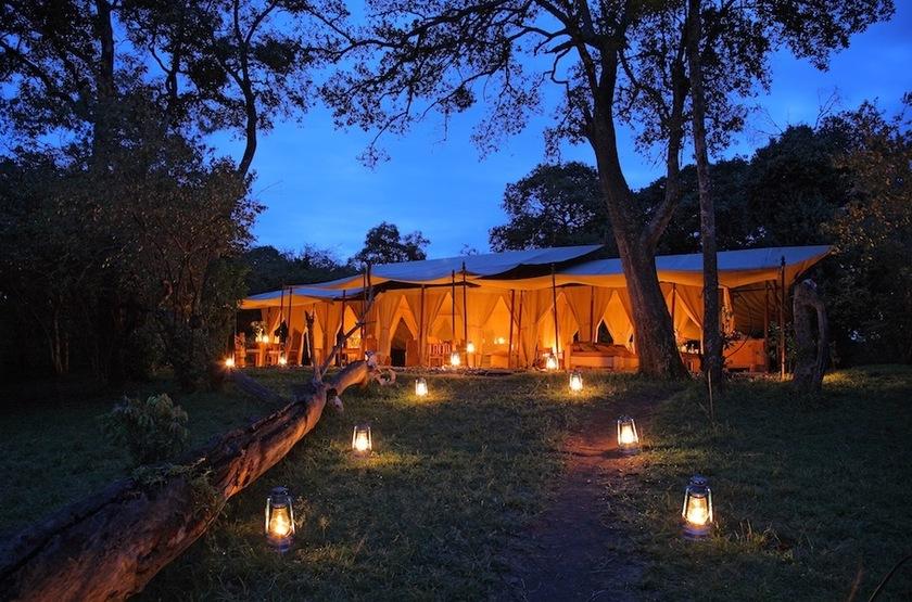 Naibor Camp, Masai Mara, Kenya, extérieur