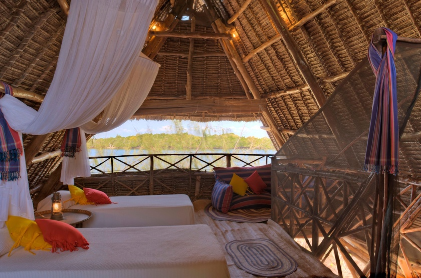 The Funzi Keys Island, Kenya, tree house