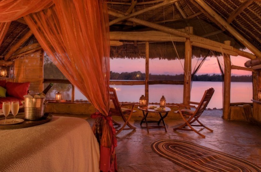 The Funzi Keys Island, Kenya, beach cottage