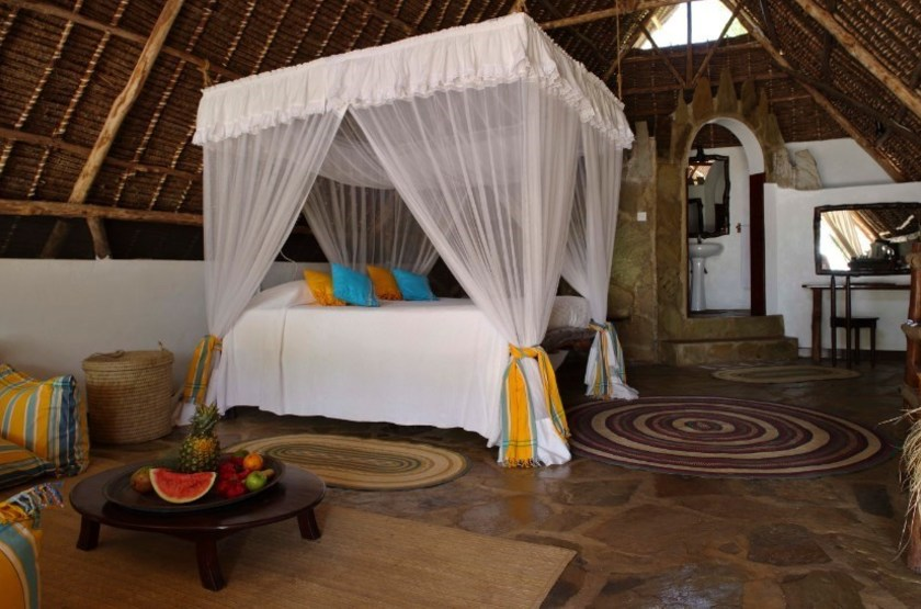 The Funzi Keys Island, Kenya, chambre cottage