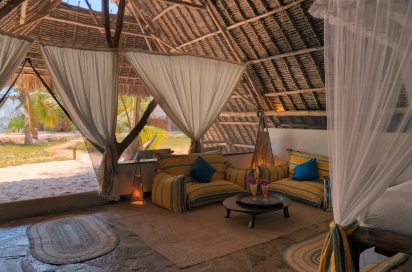 The Funzi Keys Island, Kenya, sea view cottage