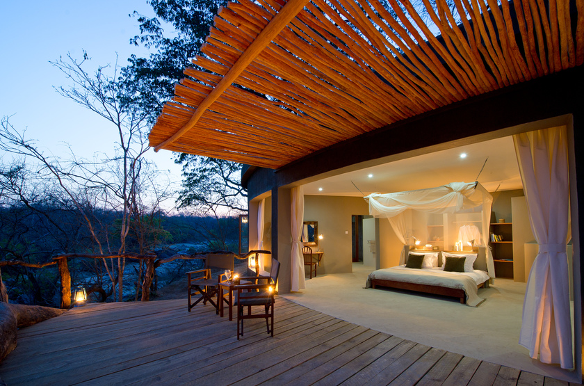 Mkulumadzi Lodge, Reserve de Majete, Malawi, chambre
