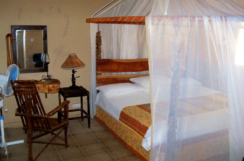 Norman Carr Cottage, Lac Malawi, chambre