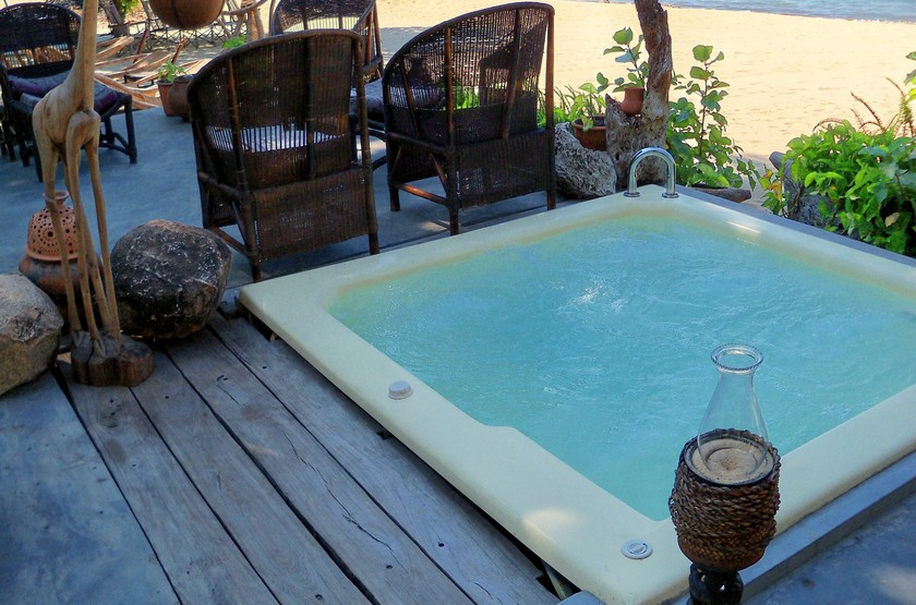 Norman Carr Cottage, Lac Malawi, jacuzzi