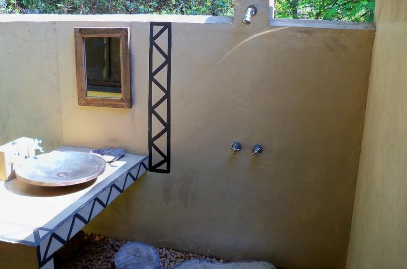 Norman Carr Cottage, Lac Malawi, salle de bains