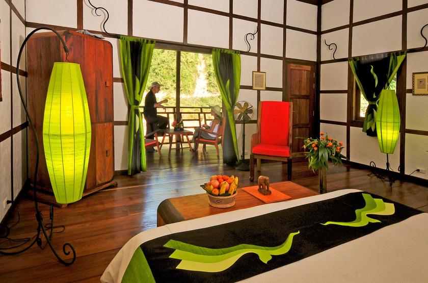 Muang La Resort, Laos, chambre