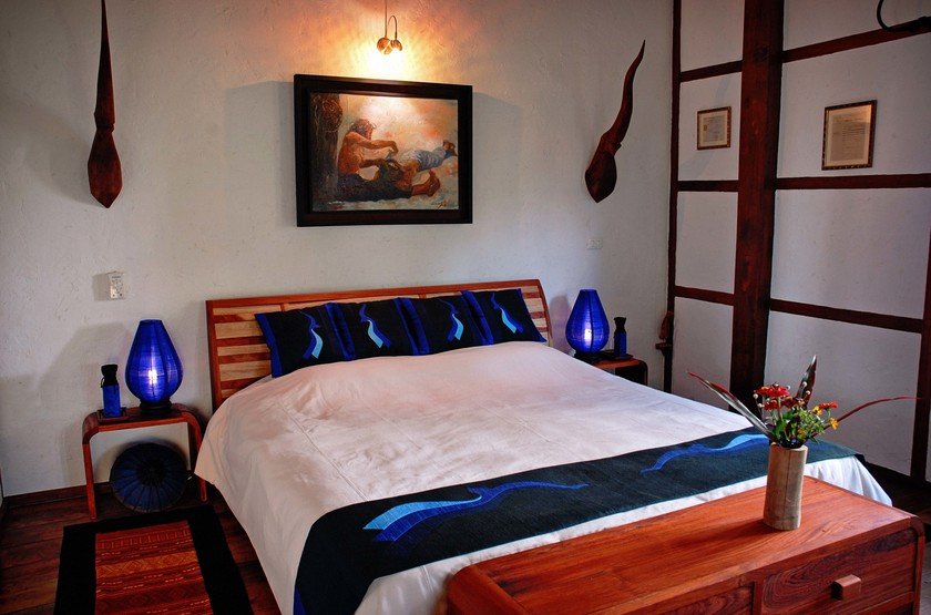Laos  muang la resort bedroom slideshow