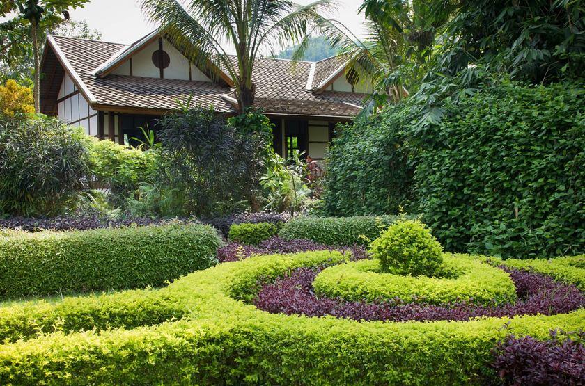 Muang La Resort, Laos, jardin