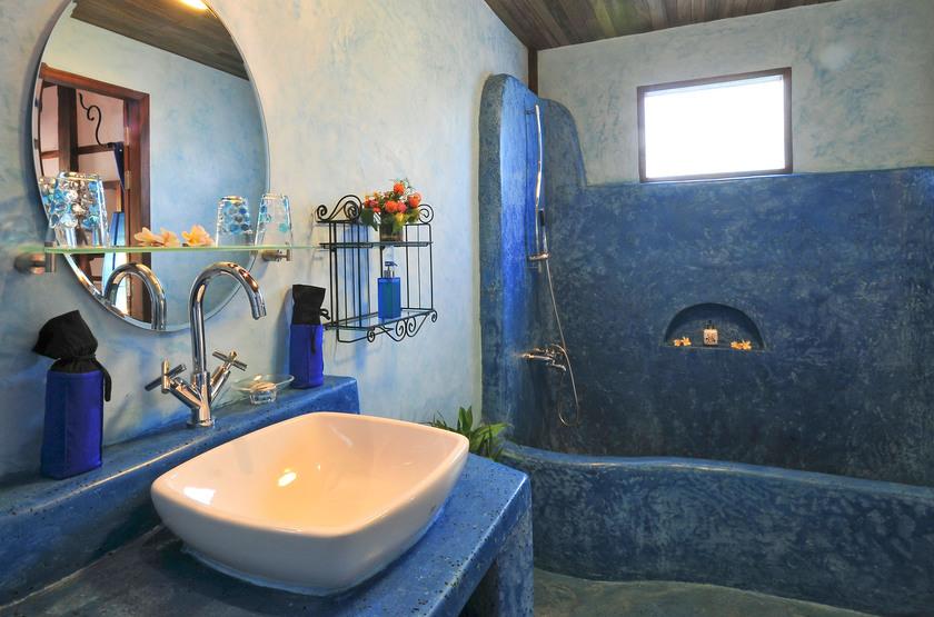 Muang La Resort, Laos, salle de bains