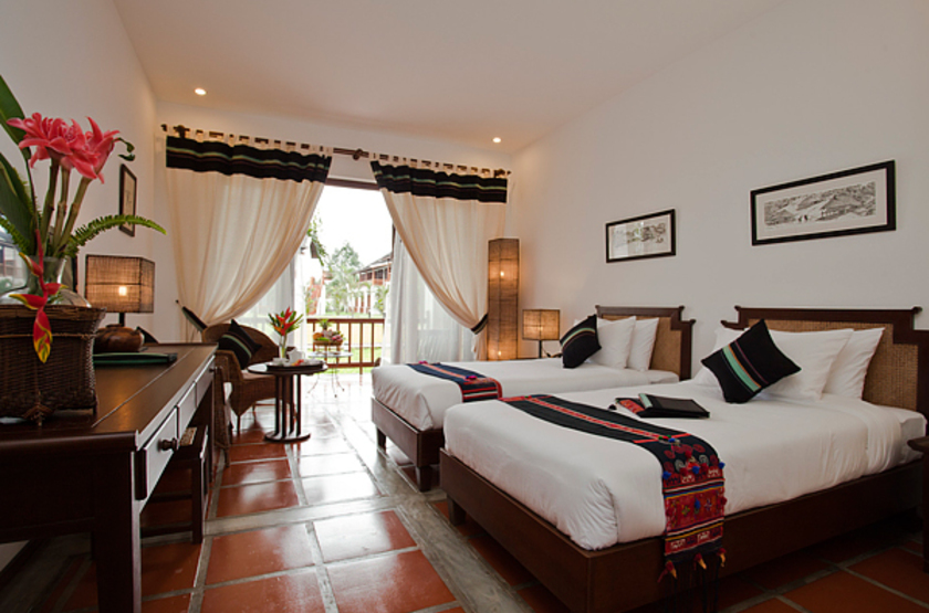Riverside Boutique Resort Vang Vieng, Laos, chambre