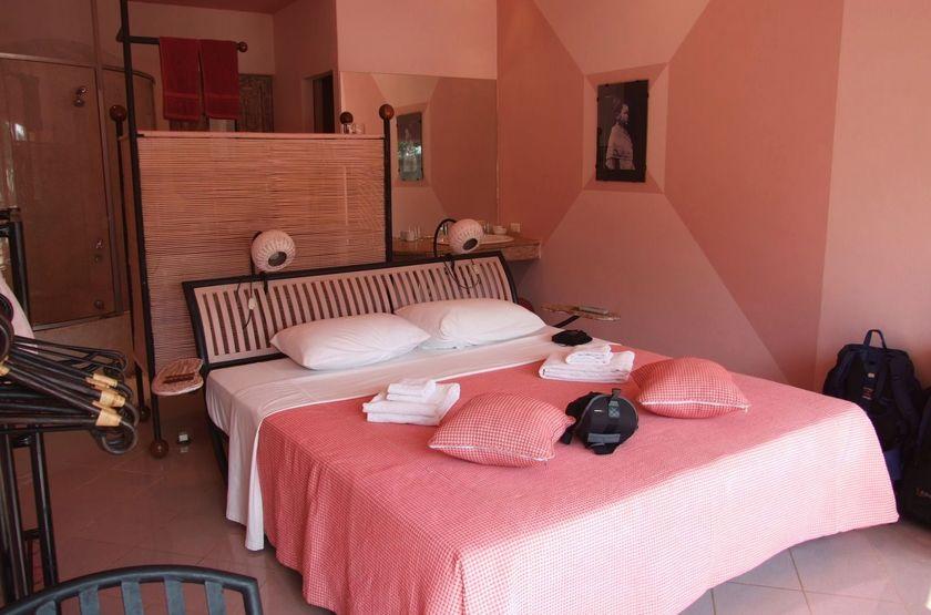 Beau Rivage Mekong, Laos, Vientiane, chambre rose