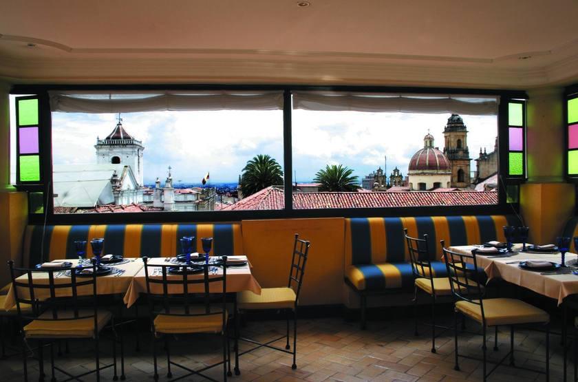 De La Opera, Bogota, Colombie, restaurant sur le toit