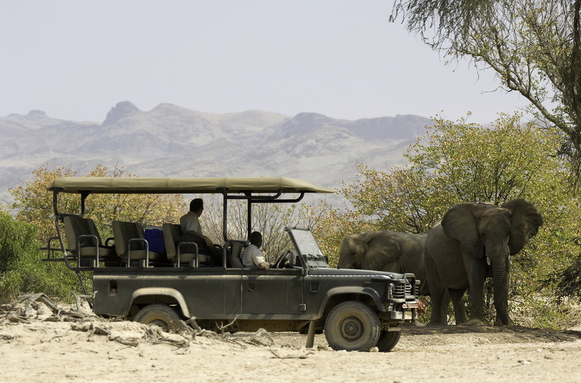 Hoanib Skeleton Coast Camp, Namibie, safari en 4x4