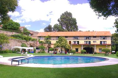 Hacienda san miguel regla mexique piscine listing