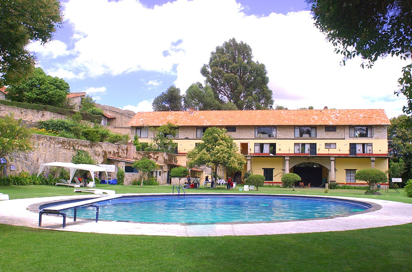 Hacienda san miguel regla mexique piscine slideshow