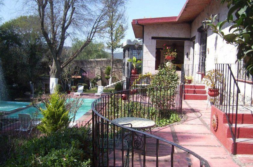 Hacienda San Miguel Regla, Mexique, piscine