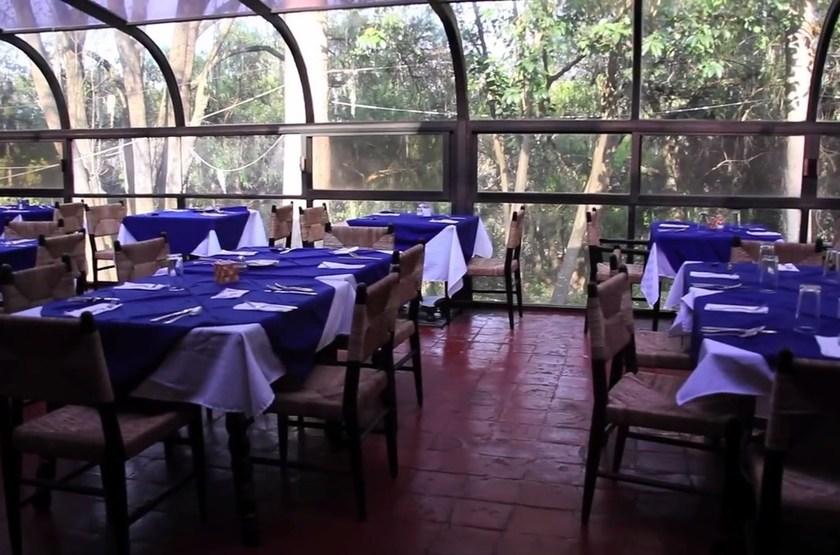 Hacienda San Miguel Regla, Mexique, restaurant