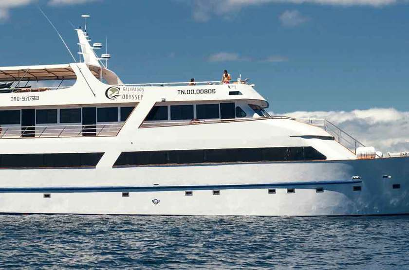 Yacht Grand Odyssey, Galapagos, Equateur, bateau