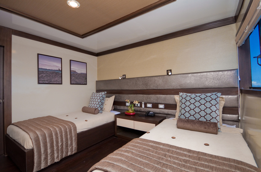 Yacht Grand Odyssey, Galapagos, Equateur, cabine twin
