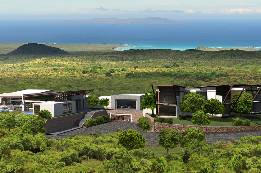 Pïkaia Lodge, Galapagos, Equateur, emplacement