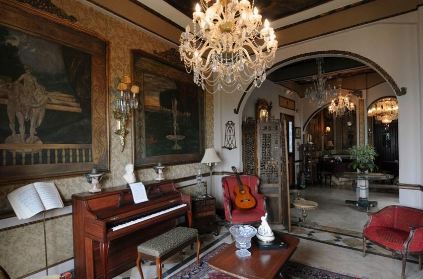 Mansion Del Rio, Guayaquil, Equateur, salon