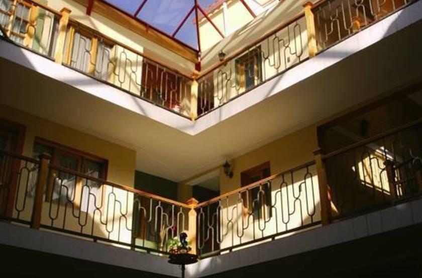 Cima Argentum, Potosi, Bolivie, patio