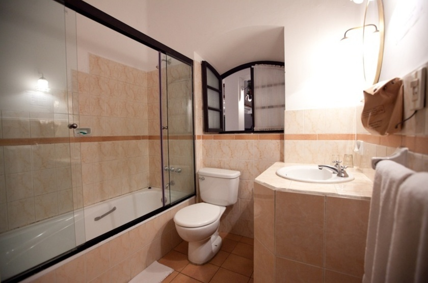 De Su Merced, Sucre, Bolivie, salle de bains