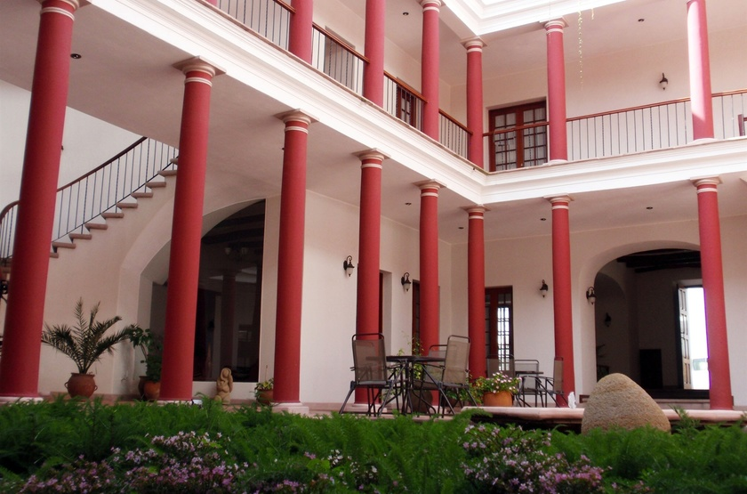 Villa Antigua, Sucre, Bolivie, patio