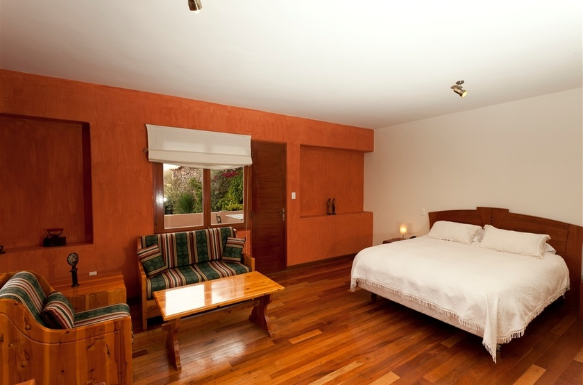 Villa Antigua, Sucre, Bolivie, chambre