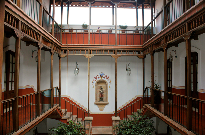 Parador Santa Maria La Real, Sucre, Bolivie, intérieur