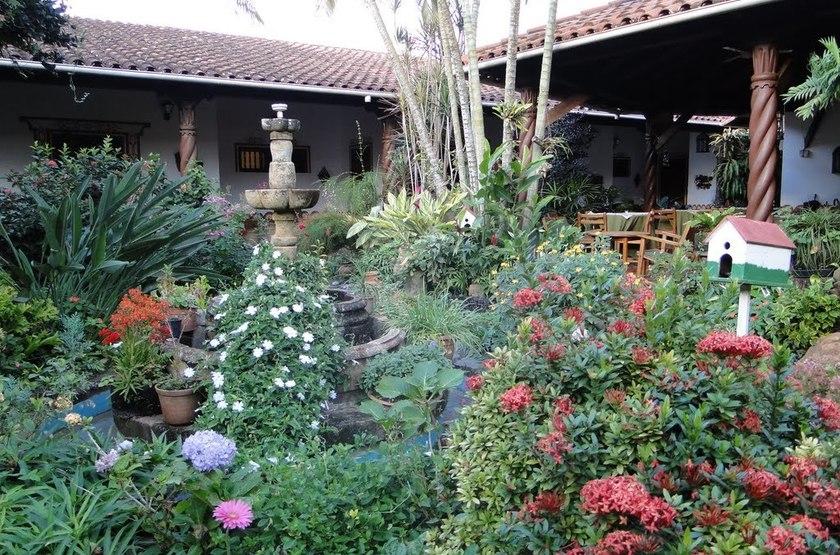 Grand Hôtel Concepción, Bolivie, jardins
